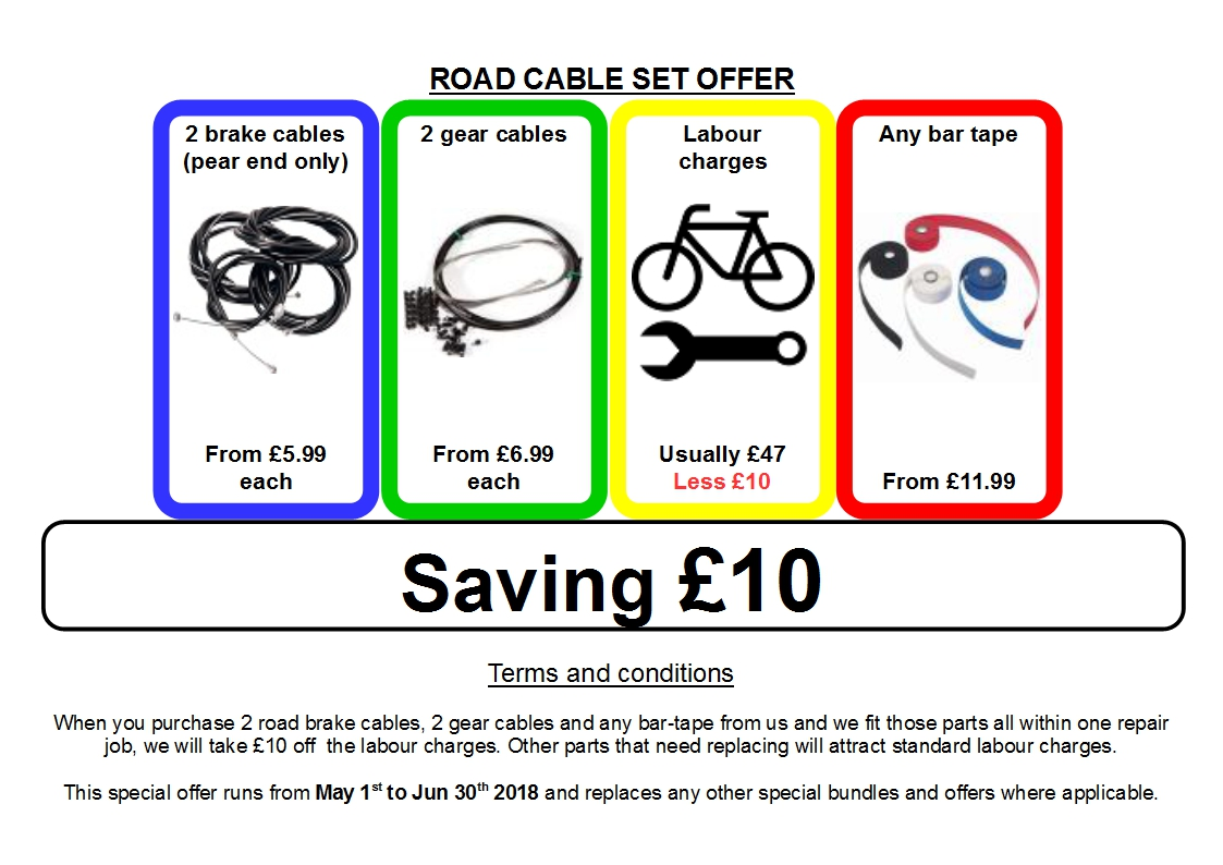 ROAD CABLE SET OFFER 5 6 2018